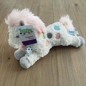 "Mary Meyer Painted Pony 11"" Taggies Stuffed Animal"